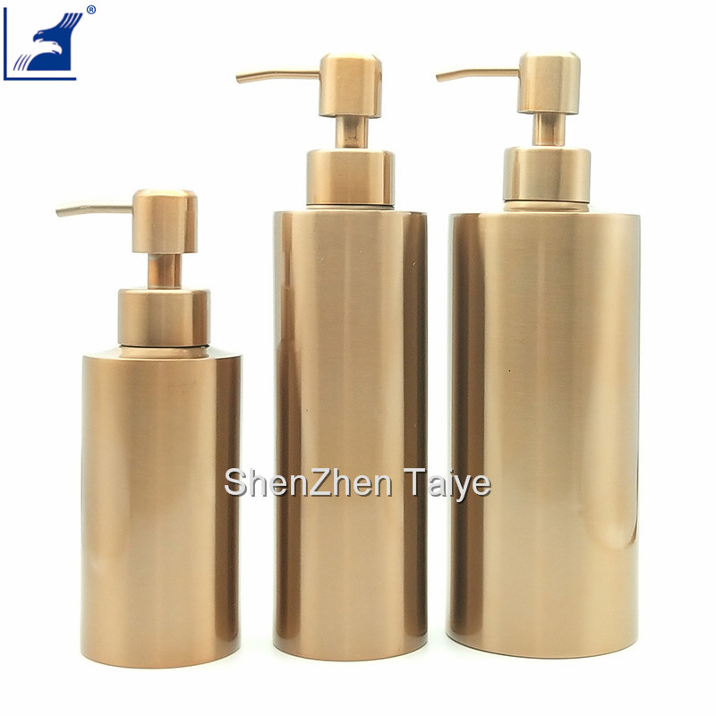 Stainless steel bottles for shampoo