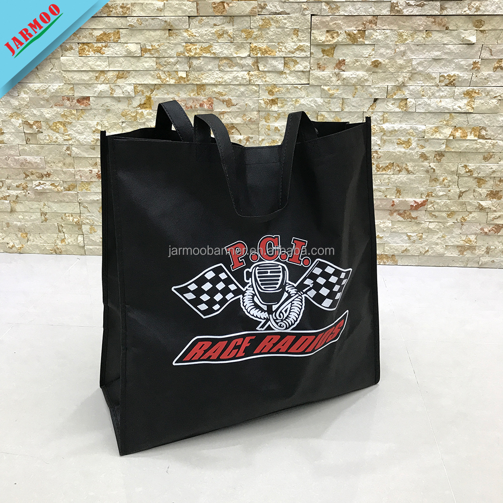 JARMOO Logo Printed Custom Cheap Non-Woven Shopping Bag