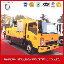 HOWO high quality asphalt road repairing vehicle with cheap price
