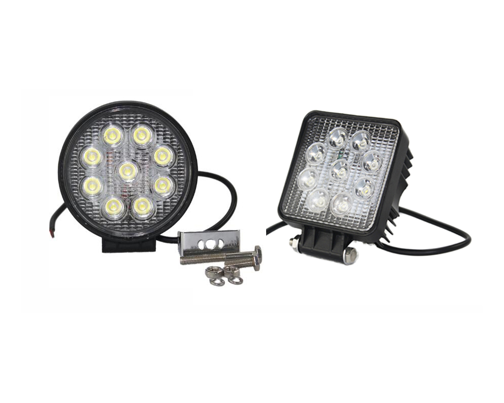 High power led light 27w for car truck jeep fog light super waterproof