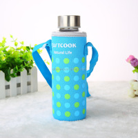 Cartoon neoprene water/wine/ bottle holder cooler bag made in China