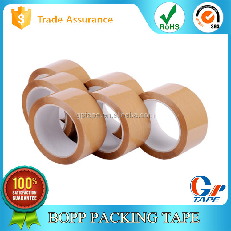Bopp Adhesive Colored Glow Tape Vinyl For Carton Packing Use