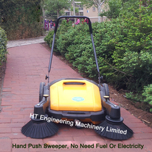 No Need Fuel No Need Electricity 2017 New Designed Manual Floor Sweeper