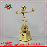 High quality funny metal trophy