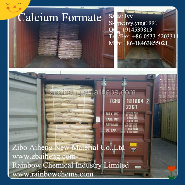 Organic chemical calcium formate cement additives feed additives 98