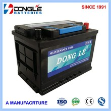 High Quality Long Life 12V 75Ah maintenance free auto battery