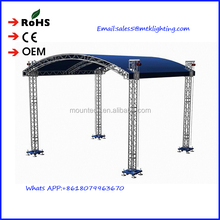aluminum global truss custom new shape outdoor stage truss aluminum design