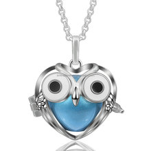 K209 Newest Owl Design Angel Caller Harmony Chime Ball Pendant Belly Sounds Mexican Bola Jewelry