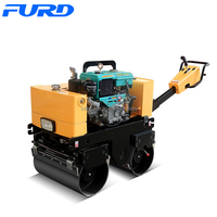 Top Quality 800kg Smooth Drum Vibratory Mini Road Roller Sale (FYL-800CS)