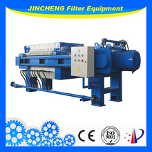Automatic Membrane Filter Press For Chemical Industry sludge thickening