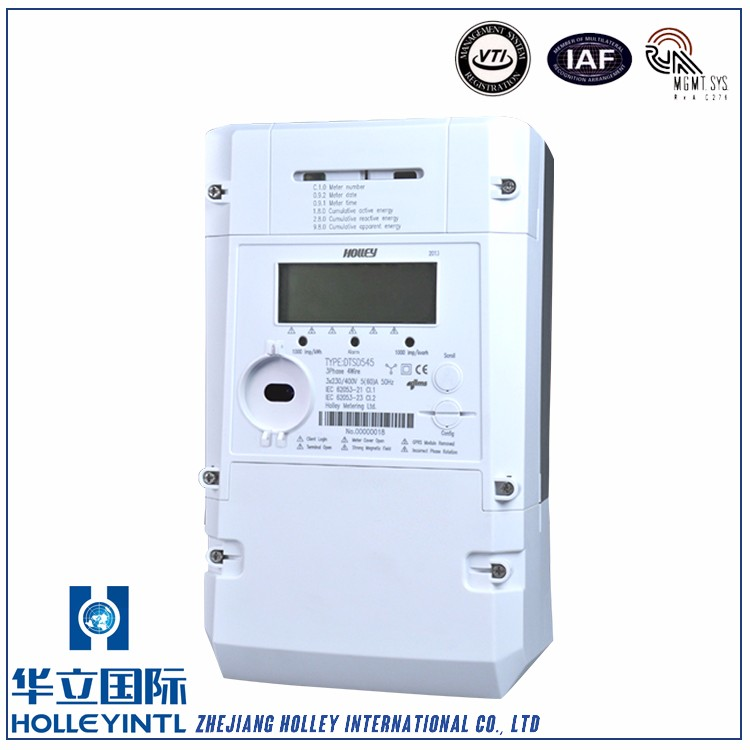 Multi-communication interfaces smart electric energy meter