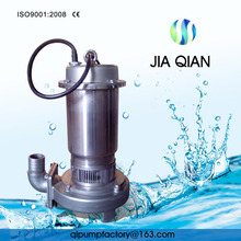 QXF Clean Water Stainless Steel Submersible Water Pump