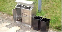 Taizhou Huangyan big public dustbin Plastic injection mould