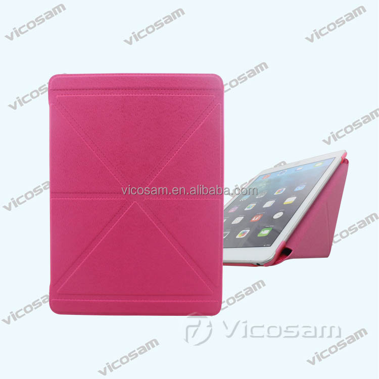 2015 fashion good quality tablet cover leather case for ipad air 2, case for ipad tablet