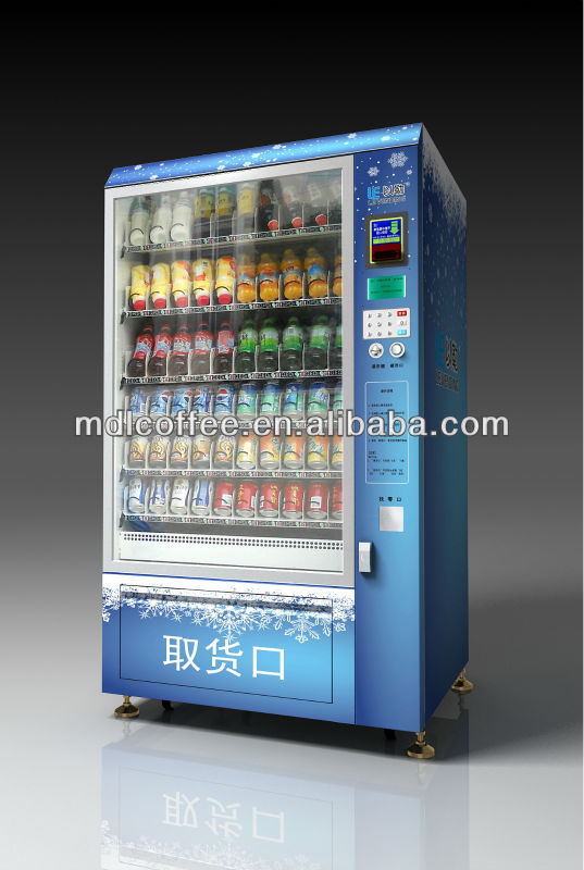 How to Operate Automatic Soda and Snack Vending Machine