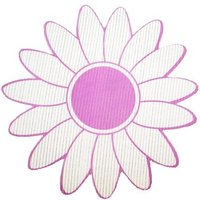 Fancy Bath Mat flower shaped rug