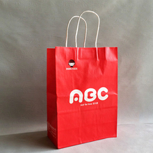 Shopping Industrial Use and Paper Material gift bag for packing