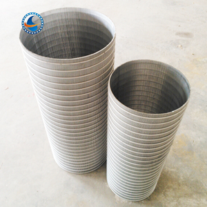 high quality 90 reverse rolled wedge wire screen pipe