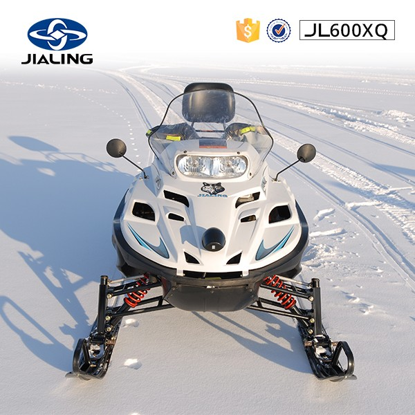 JH600XQ Chinese vintage snowmobile with snowboard