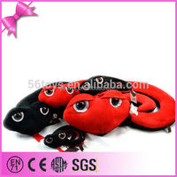 Plastic Eyes Vivid Animal Shape China Best Made Hot Selling Customized snake stuffed animal plush toy