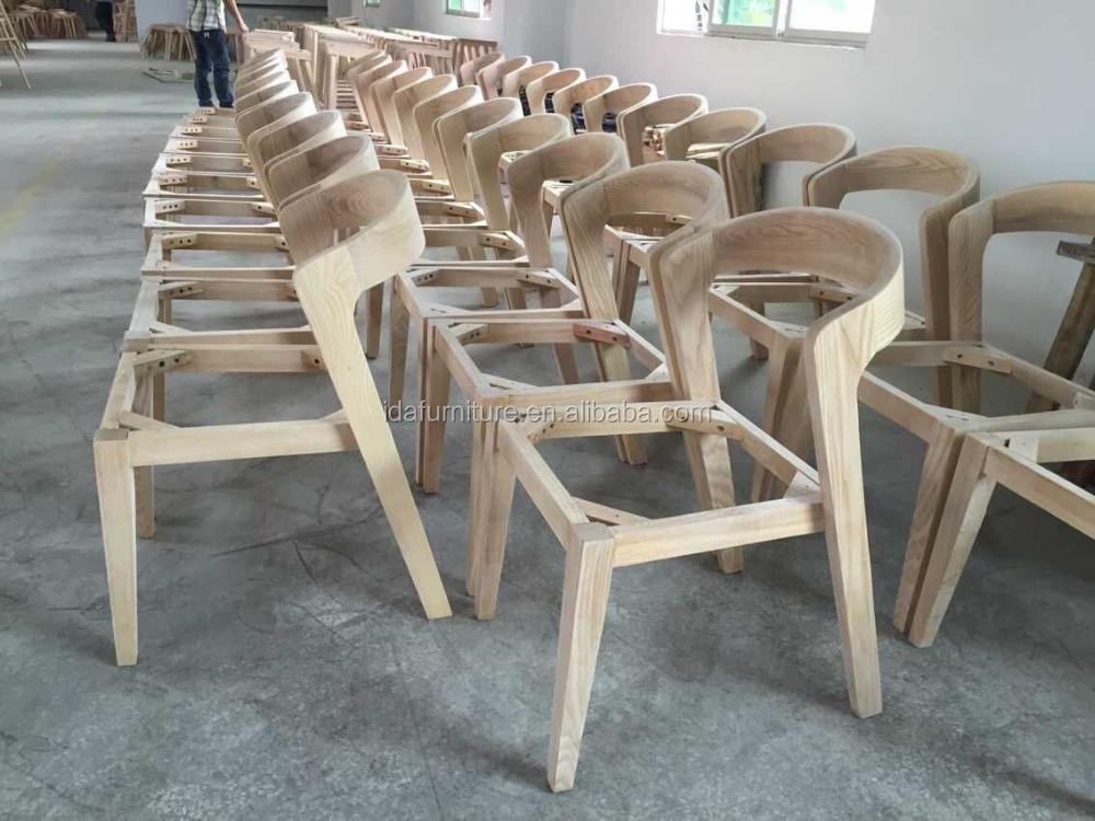 Bjorn Dining Chair Modern Solid Furniture Chair Shenzhen Wooden Factory