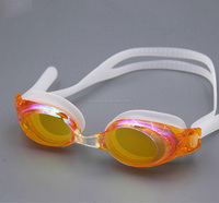 2015 comfortable eyecup swimming goggles speedo colorful lens