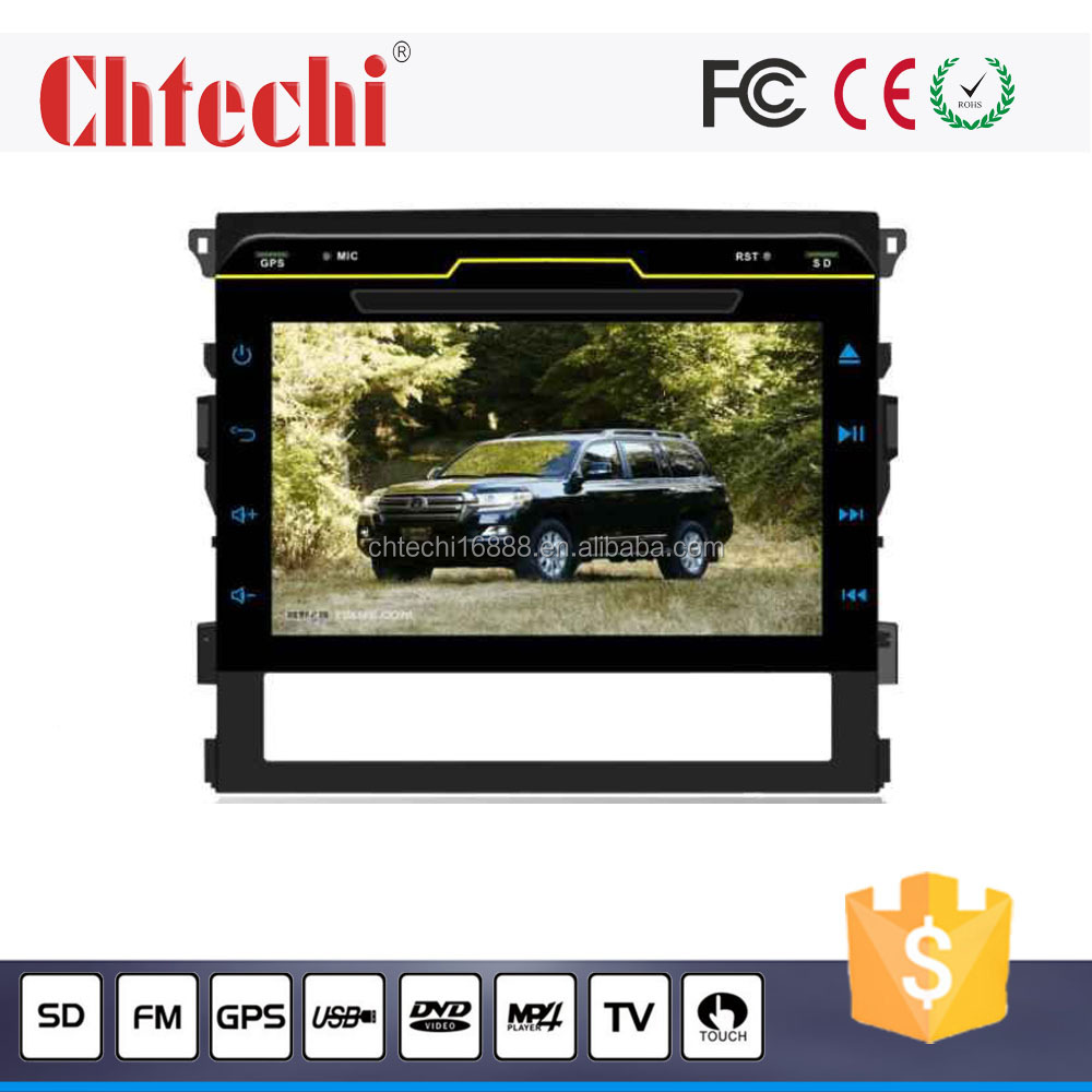 Car DVD Player for Toyota Land Cruiser 2016 with TV/AM/FM/Radio/Bluetooth/Navigation/Android 5.1.1/Wince 6.0 system