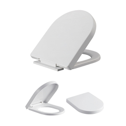 M024 High quality plastic quick release toilet seat cover