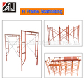 Frame Type Scaffolding For Building Construction,Made in Guangzhou