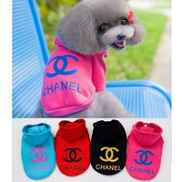 New Arrival Comfortable Dog Jumpsuits Fashion Designer Dog Clothes Pet Dog Shirt Clothes Free Shipping