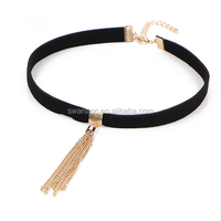 Boho Sexy Long Tassel Choker Necklace