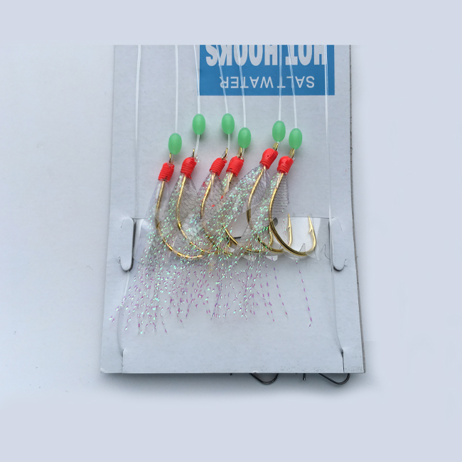 Saltwater fishing skin sabiki rig lure for fishing