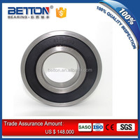 High precision 6207 bearing 6207-2RS rubber sealed bearing