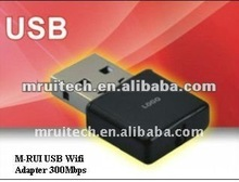 300Mbps 11n Wireless USB Dongle