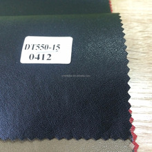 Embossed Washed PU imitation leather for clothes 0.4mm thickness