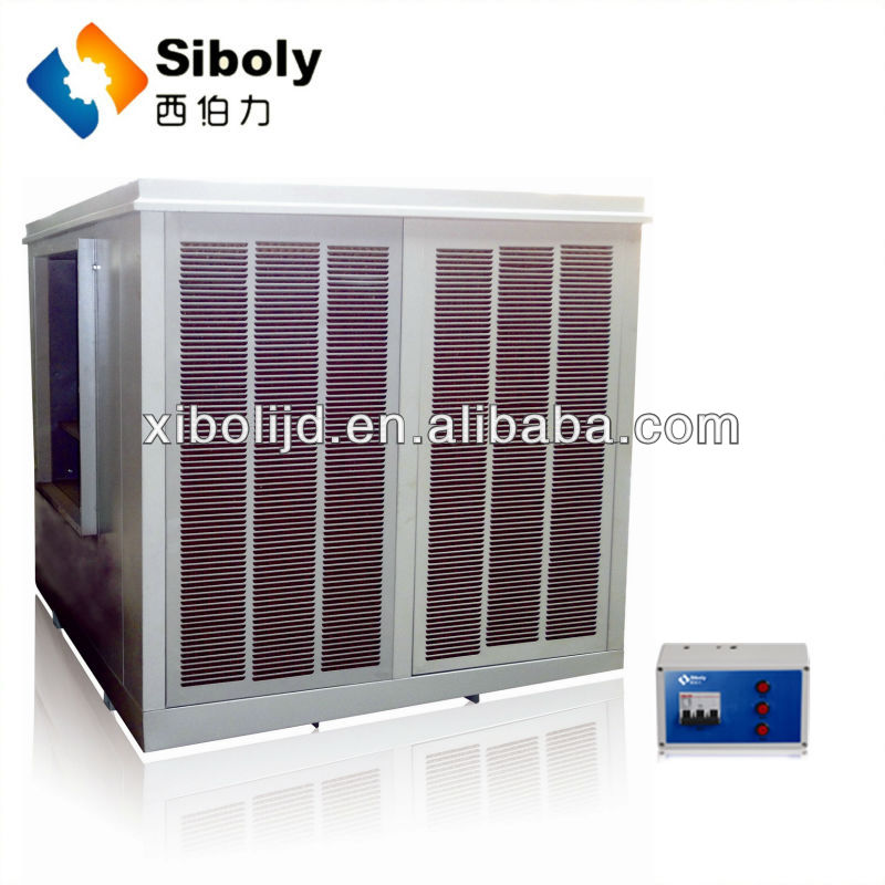 Big airflow poultry air cooler ducted split unit for industrial evaporative air condition