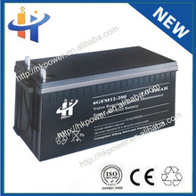 Rechargeable sealed lead acid agm battery 12v 200ah