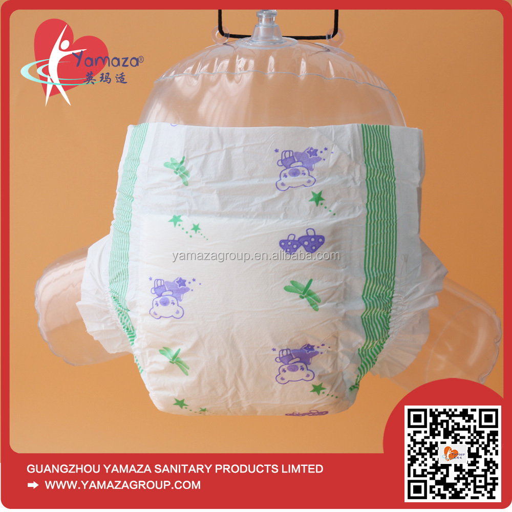 2017 Competitive Price China Wholesale Manufacture Disposable Pororo Baby Diaper in Pallets