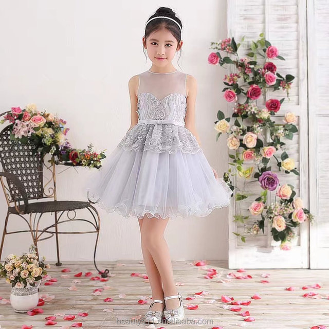 Children's wedding dress pregnant evening dress party dress 2017 ED563