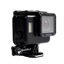 New Design 60M Black Waterproof Gopros heros 5 housing for Go pro Camera case