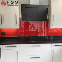 excellent quality tempered red color glass top gas stove with ISO CE CCC