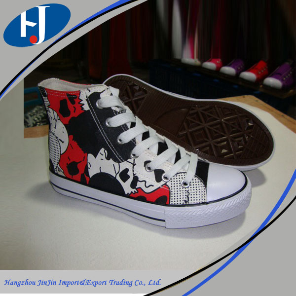 hiway china supplier all star canvas shoes