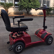 Mini sized 24V/300W motor powered mobility handicapped scooter