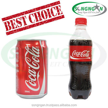 BEST SELLER COCA SOFT DRINK - CAN 330ML AND PLASTIC BOLLTE 390ML