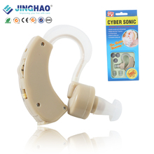 Hot Selling Electronic BTE Cyber Sonic Cheap Electric Hearing Aid Ear Amplifier