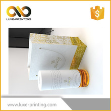 Customized printed perfume paper box for cosmetic packaging