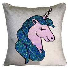 New Magic Reversible Unicorn Sequin Mermaid Pillow Covers