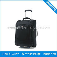 3 colour polyster polo trolley luggage for travel