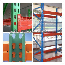 Nanjing Corrision protection American style teardrop pallet rack for warehouse storage