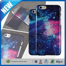 C&T High Quality COOL COLOR starry sky hard plastic case for iphone 6 /6s